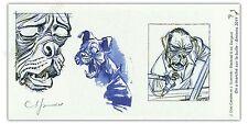 Ex-libris Guarnido Blacksad Chien ex signé 10x20