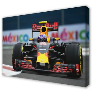 MAX VERSTAPPEN Red Bull Formula F1 Grand Prix Canvas Print Picture Art ~ 5 Sizes
