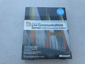 Microsoft Office Live Communications Server 2005 Enterprise