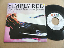 """DISQUE 45T DE SIMPLY RED """" IF YOU DON'T KNOW ME BY NOW """""""