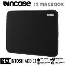 "Incase ICON Tensaerlite Foam Padded Protective Sleeve For 12"" MacBook BLACK"