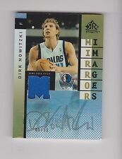 DIRK NOWITZKI PAU GASOL GAME USED JERSEY MIRROR IMAGES 2006 UPPER DECK PATCH WOW