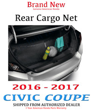 Genuine OEM Honda Civic 2dr Coupe Cargo Net 2016 - 2017 Trunk  08L96-TBG-100