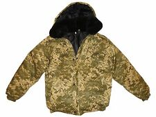 New Military Army Digital Camouflage Winter Jacket Russian Uniform. 4XL XXXXL 58