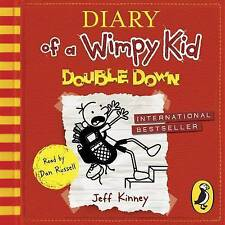 Diary of a Wimpy Kid: Double Down (Diary of a Wimpy Kid Book 11) by Jeff Kinney (CD-Audio, 2016)