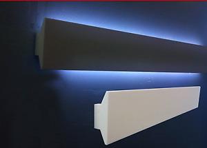 10 CORNICI IN POLISTIROLO TAGLIATE 150 X 60 X 1500 MM CORNICE PER LED
