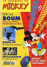 journal De MICKEY n° 2290 7 mai 1996 revue magazine donald kung fu dalmatiens