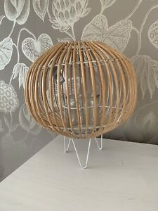 Willow Globe Candle Lantern Home Decoration