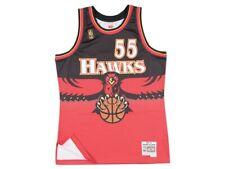 Atlanta Hawks #55 Mutombo Mitchell & Ness Swingman NBA Mesh Throwback Jersey
