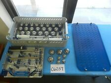 Osteonics Stryker Surgical Orthopedic Acetabular Instrument Set W/ Case