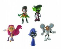 Comansi Official Teen Titans Go Toy Figure Cake Topper Toppers