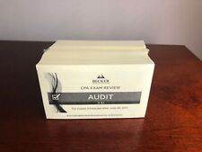 Becker CPA Audit Exam Review Unopened Flashcards