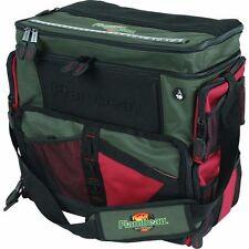 "Fishing Sports Extra Large Tackle Box Station Flambeau 17"" W NEW Green Orange"