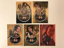 PROMO CARDS: THE MUMMY RETURNS 2001 Inkworks: 5 DIFFERENT MR1 MR2 MR3 MR4 & MBL1