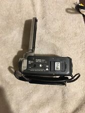 CANON FS100 Camcorder  Digital Video Camera Takes Photo Too Pre-Owned with Case