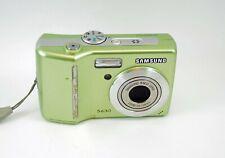 Samsung S630 6.0MP Digital Camera - Green