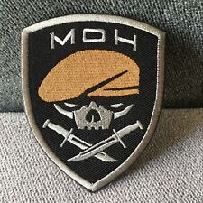 Medal of Honor MOH Special Forces Skull Ranger 75th Army Morale Hook Loop Patch