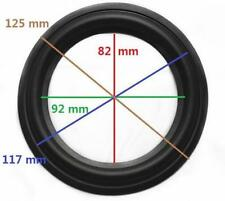 """High Quality 5"""" 5inch 125mm Speaker Surround Repair Rubber Edge Replacement t"""
