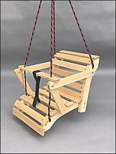 Kinderschaukel Schaukel aus Holz Holzschaukel viele Möglichkeiten für Kinder TOP