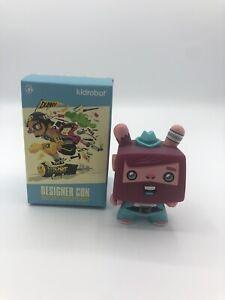 "Kidrobot Dunny Designer Con DCON Vincent Scott Tolleson 3"" China Exclusive RARE"