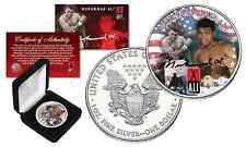 MUHAMMAD ALI Officially Licensed 1 oz. PURE .999 FINE SILVER AMERICAN U.S. EAGLE
