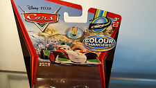 Disney pixar cars Colour /color changers Francesco Bernoulli Italian  F1 Racer