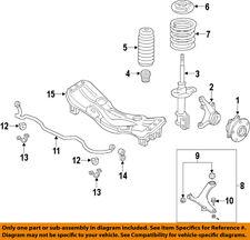 Authentique 03-05 Subaru Forester SG5 SG9 Avant Pour Moto rails crossmember berceau