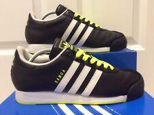 Adidas Samoa Negro Neón Verde Amarillo 2012 Release originals size UK 9 usado una vez