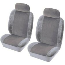 COSMOS Car Seat Cover Heritage - Front Pair - Grey [1785002]