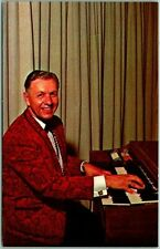 1950s Decatur Georgia Advertising Postcard TONY LAWRENCE Organ Player Bandleader