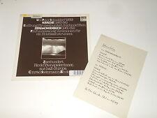 URS PETER SCHNEIDER - LP - Häresie - Zeremonienbuch - Jecklin 591 + BOOKLET