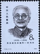 1986 8f China Stamp J.124.(2-1)
