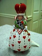 PATIENCE BREWSTER KRINKLES QUEEN OF HEARTS CHRISTMAS ORNAMENT