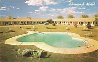 Postcard Shamrock Motel Omaha Nebraska