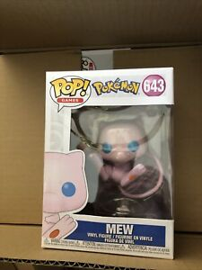 Funko Pop - Games 643 - Pokémon - Mew - Combine Shipping