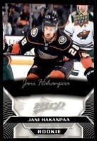 2020-21 UD MVP Silver Script - Rookies #226 Jani Hakanpaa RC - Anaheim Ducks
