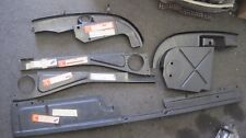 Porsche 914-6 Engine Tin Sheet Metal KIT 5 PIECES ORIGINAL GERMAN CONCOURS RARE