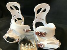 Burton Stiletto Snowboard Bindings, Size M, NEW