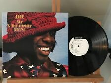 SLY & THE FAMILY STONE LIFE EPIC ECPL43 JAPAN 1972 NM/NM