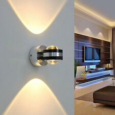 Brandneu 6W LED Wandleuchte Led Wandlampe warmweiß Deckenlampe Flurlampe Lampe