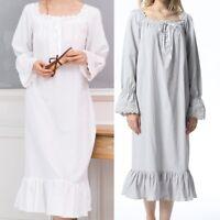 Beautiful Women's Vintage Pajamas High-end Princess Pajamas Long Sleeve Pajamas
