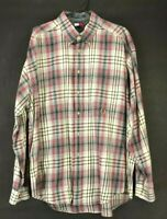 Tommy Hilfiger Men's XL Long Sleeve Button Up Dress Casual Collared Shirt