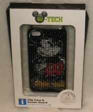 D-Tech Disney Mickey Mouse iPhone Clip Case 4S With Screen Guard NIB