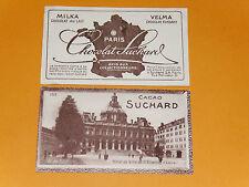 CHROMO PHOTO CHOCOLAT SUCHARD 1928 FRANCE HOTEL DE VILLE SAINT-ETIENNE LOIRE 42