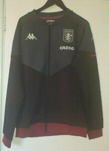 Kappa Aston Villa FC 2020/21 Leather Jacket Size X Large VR297 04