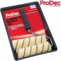"PRODEC 9"" Paint Roller Set Tiger Stripe Decorating Kit Professional Painting"