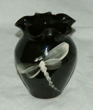 Brown Vintage Original Studio Pottery Vases