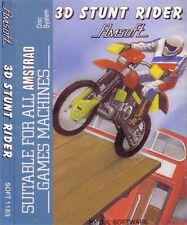 3D Stunt Rider (Amsoft 1183) Amstrad CPC Disk Disc ۞ VGC - More In Store!