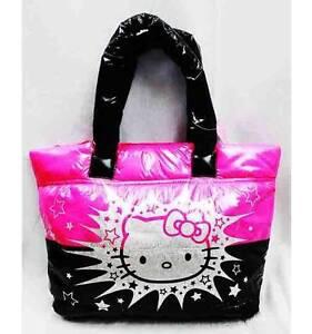 NWT Sanrio Hello Kitty Tote Purse Diaper Bag Shoulder Bag Large Handbag VINYL