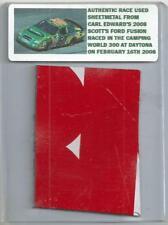Carl Edwards Nascar Race Used Sheet Metal Piece 2008 Daytona Car N-35